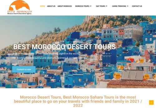 لقطة شاشة لموقع intomorocco بتاريخ 02/05/2021 بواسطة دليل مواقع الدليل