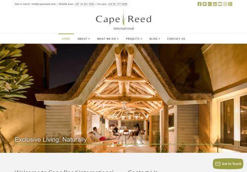 لقطة شاشة لموقع Cape Reed International بتاريخ 05/05/2021 بواسطة دليل مواقع الدليل