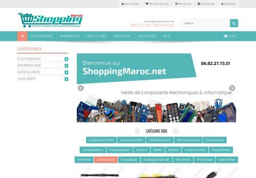لقطة شاشة لموقع shopping maroc بتاريخ 15/06/2021 بواسطة دليل مواقع الدليل