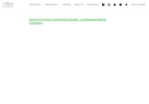 لقطة شاشة لموقع Swimming Pool Contractors Dubai بتاريخ 14/09/2021 بواسطة دليل مواقع الدليل