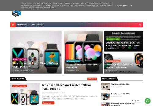 لقطة شاشة لموقع Smartwatch بتاريخ 16/09/2021 بواسطة دليل مواقع الدليل