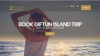 لقطة شاشة لموقع جزيرة الجفتون Giftun Island بتاريخ 31/12/2019 بواسطة دليل مواقع الدليل