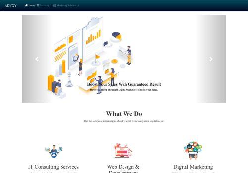 لقطة شاشة لموقع ادفكسي للبرمجة و التسويق الإلكتروني بتاريخ 10/11/2020 بواسطة دليل مواقع الدليل